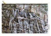 Icicles On Forbidden Drive Carry-all Pouch