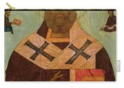 Icon Of St. Nicholas Carry-all Pouch