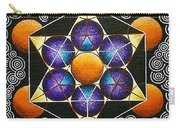 Icosahedron In A Metatron's Cube Carry-all Pouch