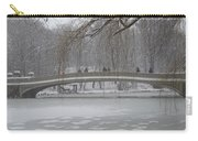 Icy Central Park Carry-all Pouch