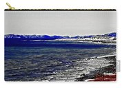 Icy Cold Seascape Digital Painting Carry-all Pouch