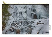 Icy Flow Of Water Carry-all Pouch