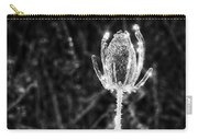 Icy Thistle In Monochrome Carry-all Pouch