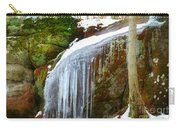 Icy Waterfall  Carry-all Pouch