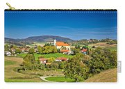 Idyllic Green Nature Of Croatian Village Of Glogovnica Carry-all Pouch