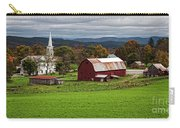 Idyllic Vermont Small Town Carry-all Pouch