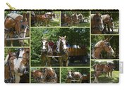 If You Love Belgian Horses Carry-all Pouch