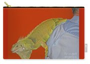 Iguana By The Tail Carry-all Pouch