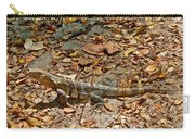 Iguana On A Trail In Manuel Antonio National Preserve-costa Rica Carry-all Pouch