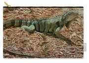 Iguana With A Smile Carry-all Pouch