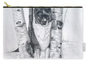 Ihasa In The Woods Carry-all Pouch by Joette Snyder