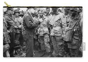 Ike With D-day Paratroopers Carry-all Pouch