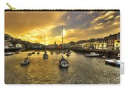 Ilfracombe Harbour At Dusk  Carry-all Pouch