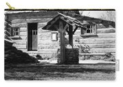 Illinois Log Cabin, C1830 Carry-all Pouch