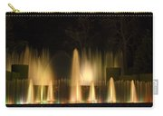 Illuminated Dancing Fountains Carry-all Pouch