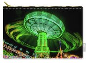 Illuminated Fair Ride With Blurred Neon Carry-all Pouch