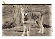Illusion Of A Wolf Carry-all Pouch
