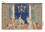 Illustration From 'les Liaisons Dangereuses'  Carry-all Pouch