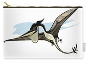 Illustration Of A Pteranodon Dinosaur Carry-all Pouch