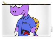 Illustration Of A Spinosaurus Plumber Carry-all Pouch