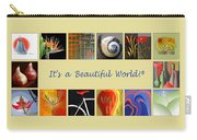 Image Mosaic - Promotional Collage Carry-all Pouch by Ben and Raisa Gertsberg