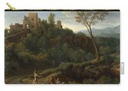 Imaginary Landscape With Buildings In Tivoli Carry-all Pouch