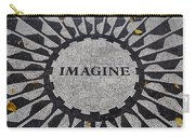 Imagine A World Of Peace Carry-all Pouch
