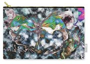 Imagine Number 2 Butterfly Art Carry-all Pouch