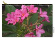 Immaculate Pink Plumerias Carry-all Pouch
