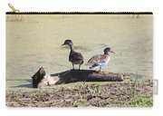 Immature Wood Ducks Carry-all Pouch