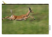 Impala  Running And Leaping Carry-all Pouch