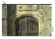Imposing Front Door Of Titchfield Abbey Carry-all Pouch
