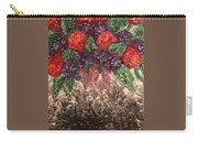 Impression Flowers Carry-all Pouch