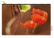 Impression With Red Poppies Carry-all Pouch