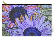 Impressionism Sunflowers Carry-all Pouch
