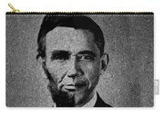 Impressionist Interpretation Of Lincoln Becoming Obama Carry-all Pouch by Doc Braham