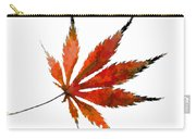 Impressionist Japanese Maple Leaf Carry-all Pouch