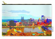 Impressionist Pittsburgh Across The River 2 Carry-all Pouch