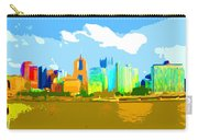 Impressionist Pittsburgh From The North Side Carry-all Pouch