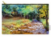 Impressionist Rocky Creek Carry-all Pouch