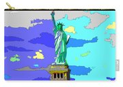 Impressionist Statue Of Liberty Carry-all Pouch