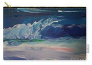 Impressionistic Abstract Wave Carry-all Pouch