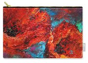 Impressionistic Red Poppies Carry-all Pouch