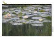 Impressions Of Monet's Water Lilies  Carry-all Pouch