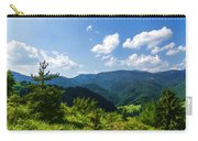 Impressions Of Mountains And Forests And Trees Carry-all Pouch