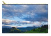 Impressions Of Mountains And Magical Clouds Carry-all Pouch