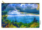 Impressions Of Waterrock Knob On The Blue Ridge Parkway Carry-all Pouch