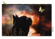 In A Cats Eye All Things Belong To Cats.  Carry-all Pouch