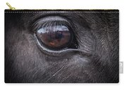 In A Horse's Eye Carry-all Pouch
