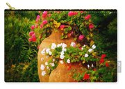 In A Portuguese Garden - Digital Oil Carry-all Pouch